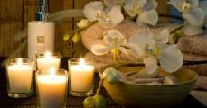 health spa setting